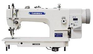 Máquina de Transporte Duplo Direct Drive Lanmax LM-0318D - 220 V + Kit de calcadores