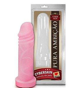 Capa peniana em cyberskin - 17x4,5