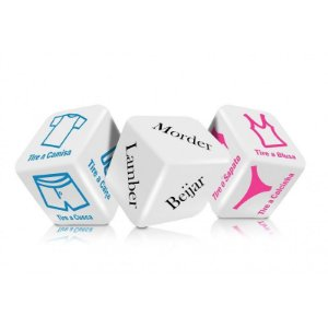 Jogo dado Strip Tease para casal - c/3 unid.