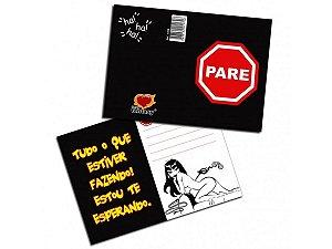 """Cartão """"Pare"""""""