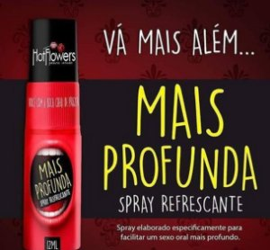 Spray para sexo oral 12ml- Mais Profunda