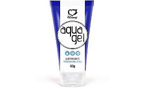 Lubrificante beijável menta refrescante 60g - Aqua Gel Frozen