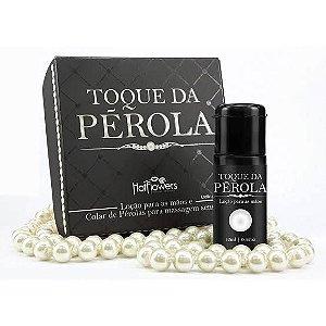 Kit para massagem/masturbação erótica - Toque de Pérola