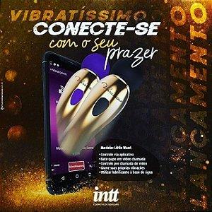 Vibrador com controle via APP - Vibratissimo Litlle Want