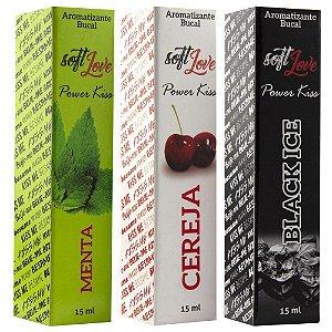 Spray aromatizante bucal 15ml - Power Kiss