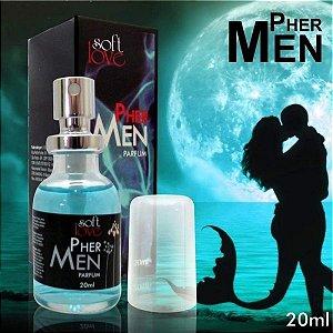 Perfume Afrodisíaco Masculino  20ml - Pher Men