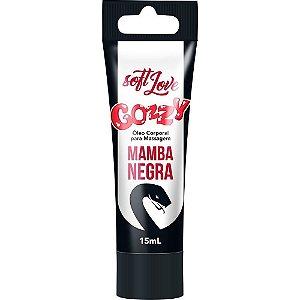 Excitante bisnaga 15ml - Gozzy Mamba Negra