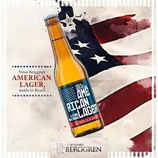 Cerveja Berggren American Lager 355ml