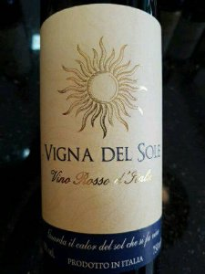 Vinho Vigna Del Sole Vino Rosso 750ml
