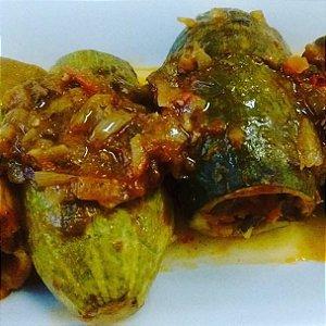 Abobrinha Recheada 330 gramas Snoubar Cozinha Libanesa