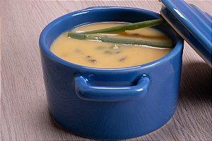 Caldo de Mandioquinha com Shitake e Ervilha Fresca 500 gramas