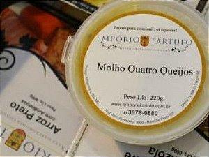 Molho Quatro Queijos 220 gramas