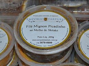 Filé Mignon Picadinho ao Molho de  Shitake 200 gramas