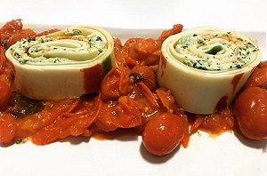 Rondelli de Ricota, Espinafre e Tomate Seco 250 gramas Primi Piatti