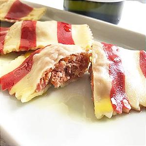 Tortelini de Linguiça Toscana 500 gramas