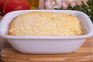 Escondidinho de Carne Seca com Purê de Mandioca 400 gramas