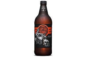 Cerveja Backer Capitão Senra Amber Lager 600 ml