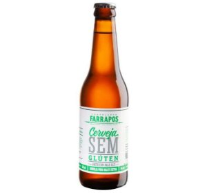 Cerveja sem Glúten APA Farrapos 355ml