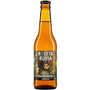 Cerveja Roleta Russa New England Long Neck 355ml