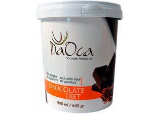 SORVETE CHOCOLATE DIET 900ML DA OCA