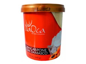 SORVETE MASCARPONE COM DAMASCO 900ML DA OCA