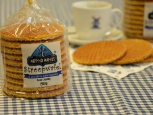 STROOPWAFEL HOLANDES MOINHO WAFERS 230 GRAMAS