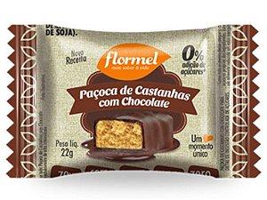 FLORMEL PACOCA DE CASTANHAS COM  CHOCOLATE  ZERO 20 GRAMAS