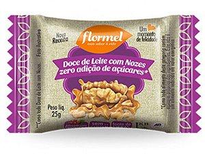 FLORMEL DOCE LEITE COM NOZES 20 GRAMAS