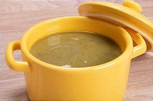 Caldo Verde com Cubinhos de Bacon, Calabresa e Carne Seca Desfiada 500 gramas