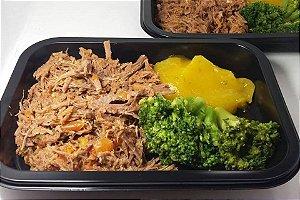 Patinho com Purê de Mandioquinha e Brócolis 250 gramas