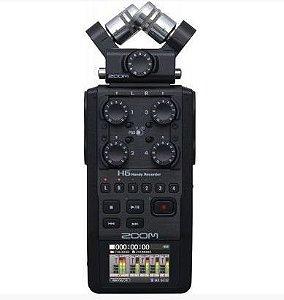 Gravador de Áudio ZOOM H6