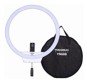 LED RING LIGHT YONGNUO YN-608 + Fonte