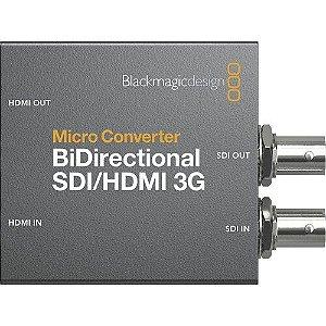Conversor BlackMagic Micro Converter Bidirecional SDI/HDMI 3G (com fonte de alimentação)