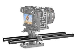 SmallRig Longarina par 2x 15mm Rod Alumínio M12-30cm (1053)