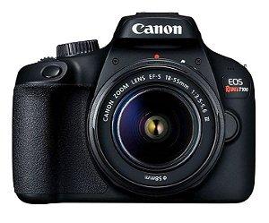 Câmera CANON EOS Rebel T100 e 18-55mm f/3.5-5.6 III