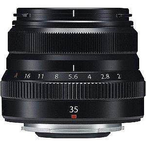 Lente FUJIFILM XF 35mm f/2 R WR PRETA