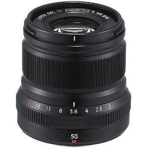 Lente FUJIFILM XF 50mm f/2 R WR