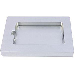 Suporte de Alumínio para Bandeja Plástica Dubai ou Black Piano 240x140x1mm - SKINPACK
