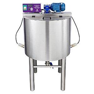 Reator com Mixer e Aquecimento - 200 Litros