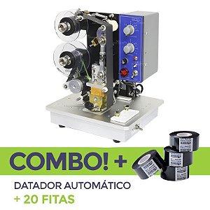 Datador Automático + 20 Fitas Datadoras