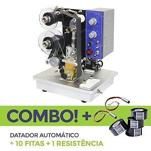 Datador Automático + 10 Fitas Datadoras + 1 Resistência Reserva