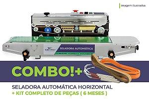 Seladora Automática Horizontal + Kit Completo de Peças (6 meses)