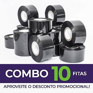 Fita para Datador Manual e Automático Preta (Ribbon) - 10 Unidades