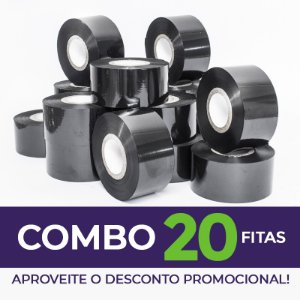 Fita para Datador Manual e Automático Preta (Ribbon)  - 20 Unidades