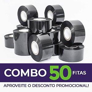 Fita para Datador Manual e Automático Preta (Ribbon) - 50 Unidades