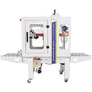 Fechadora de caixas com tração inferior e superior FXJ-6050 / NR12 - 480mm