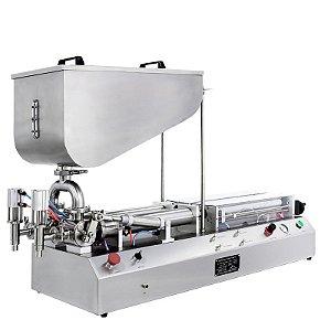 Envasadora de Produtos Pastosos 2 bicos CETRO 100-1000 ML