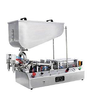 Envasadora de Produtos Pastosos 2 bicos CETRO 10-100 ML