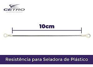 Resistência para Seladora Manual CETRO  - 10cm