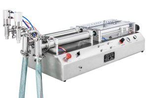 Envasadora de Liquidos 2 bicos CETRO 100-1000 ML